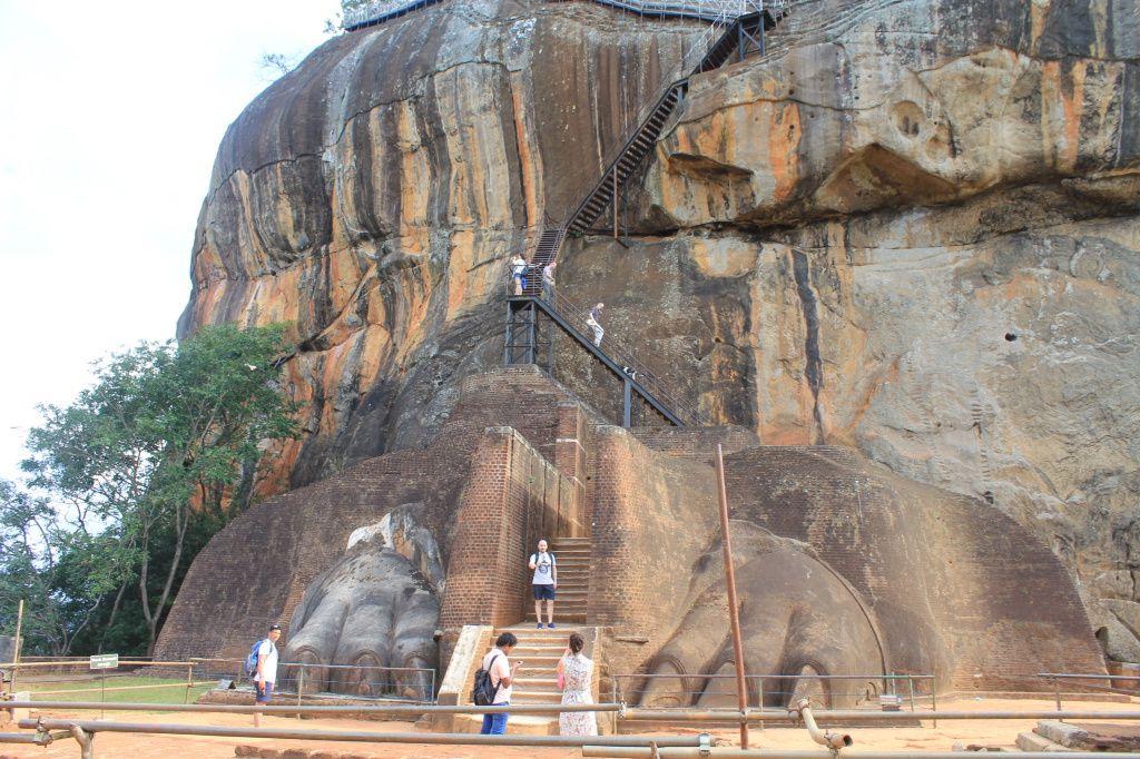 Le rocher Sigirya Jour 6