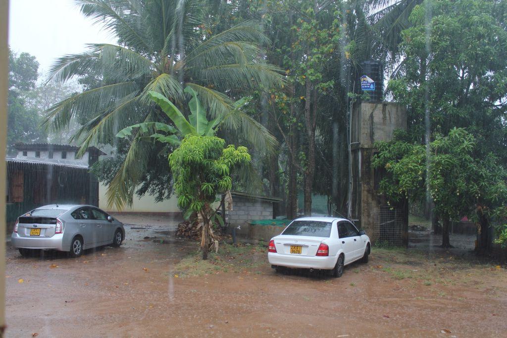 Journée de transport et premières pluies Jour 4
