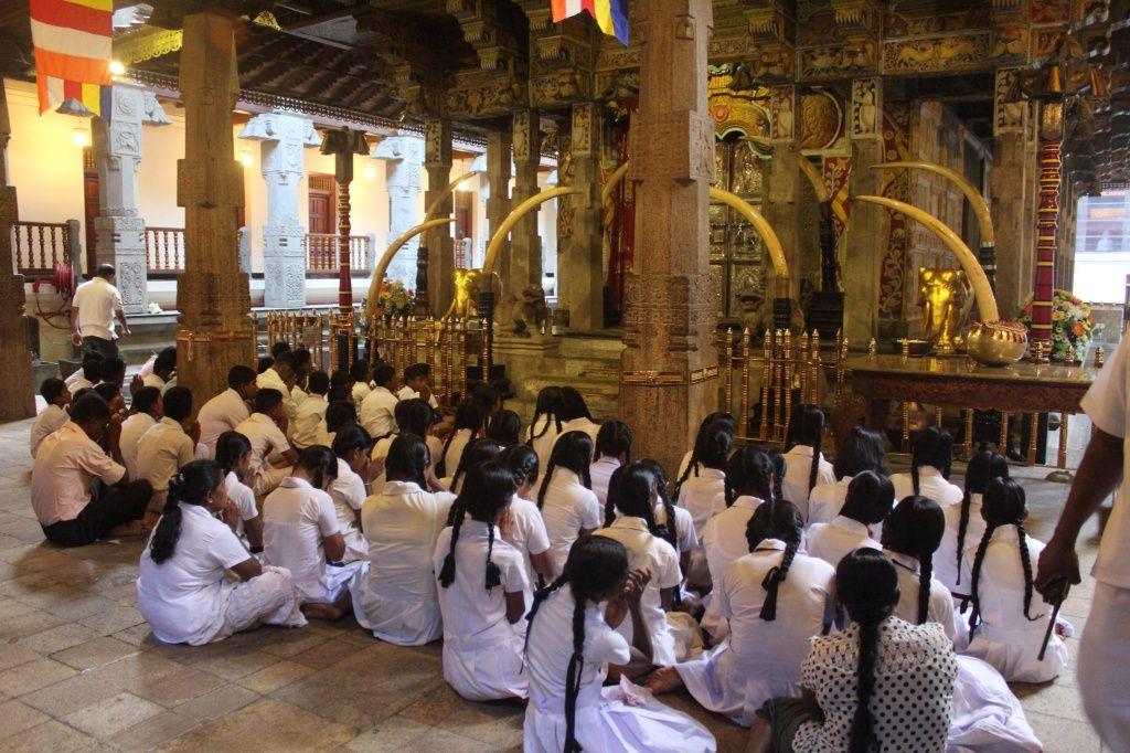 Puja au temple de la dent et train jusqu'à Ohiya Jour 9