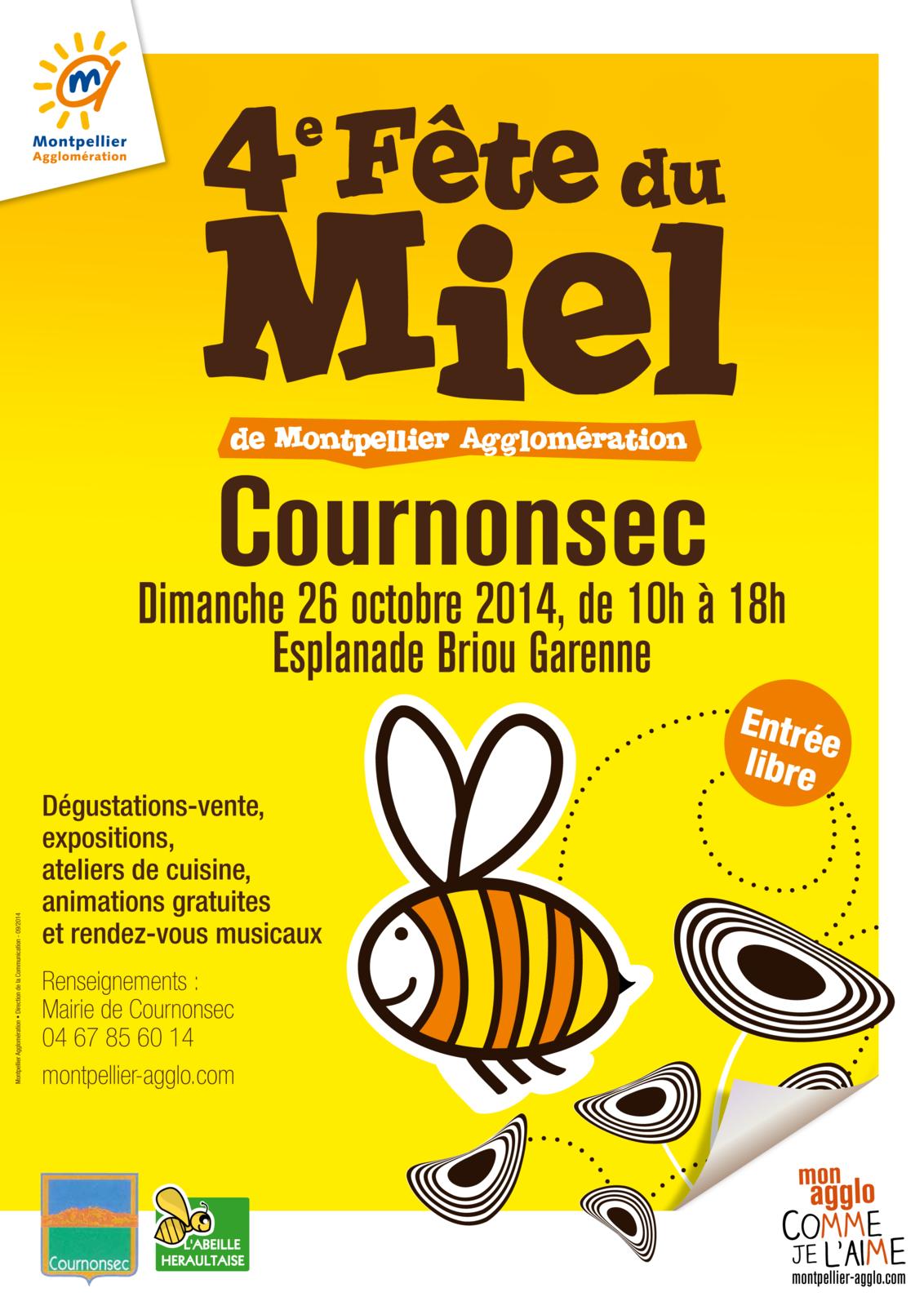 Fête du miel à Cournonsec