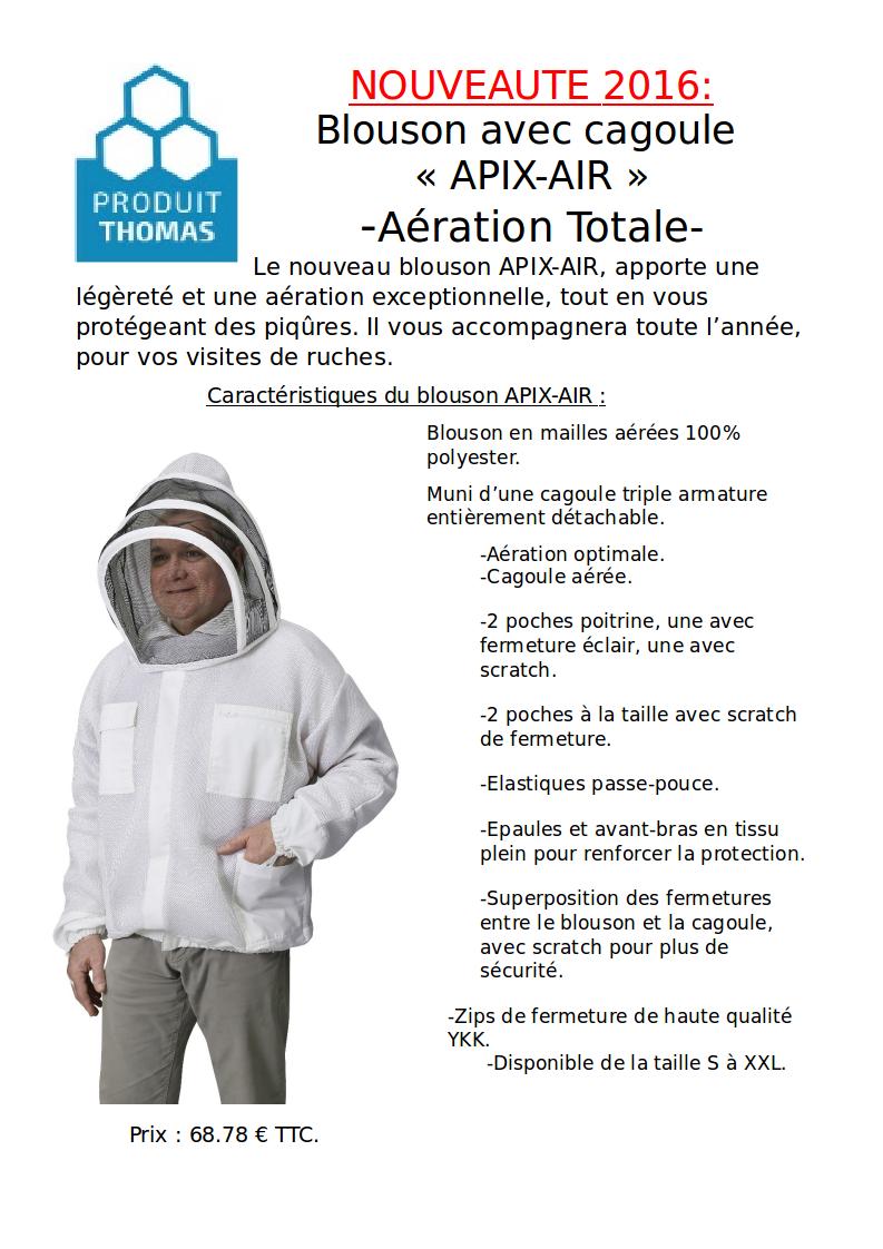 Communiqué Thomas Apiculture