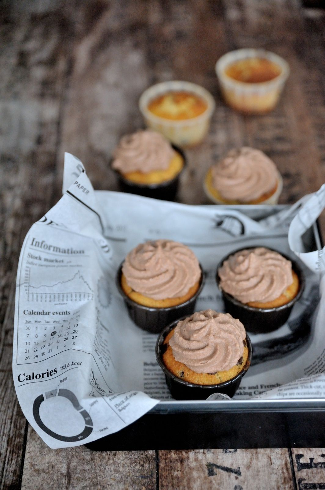 Base pour cupcake - recette américaine