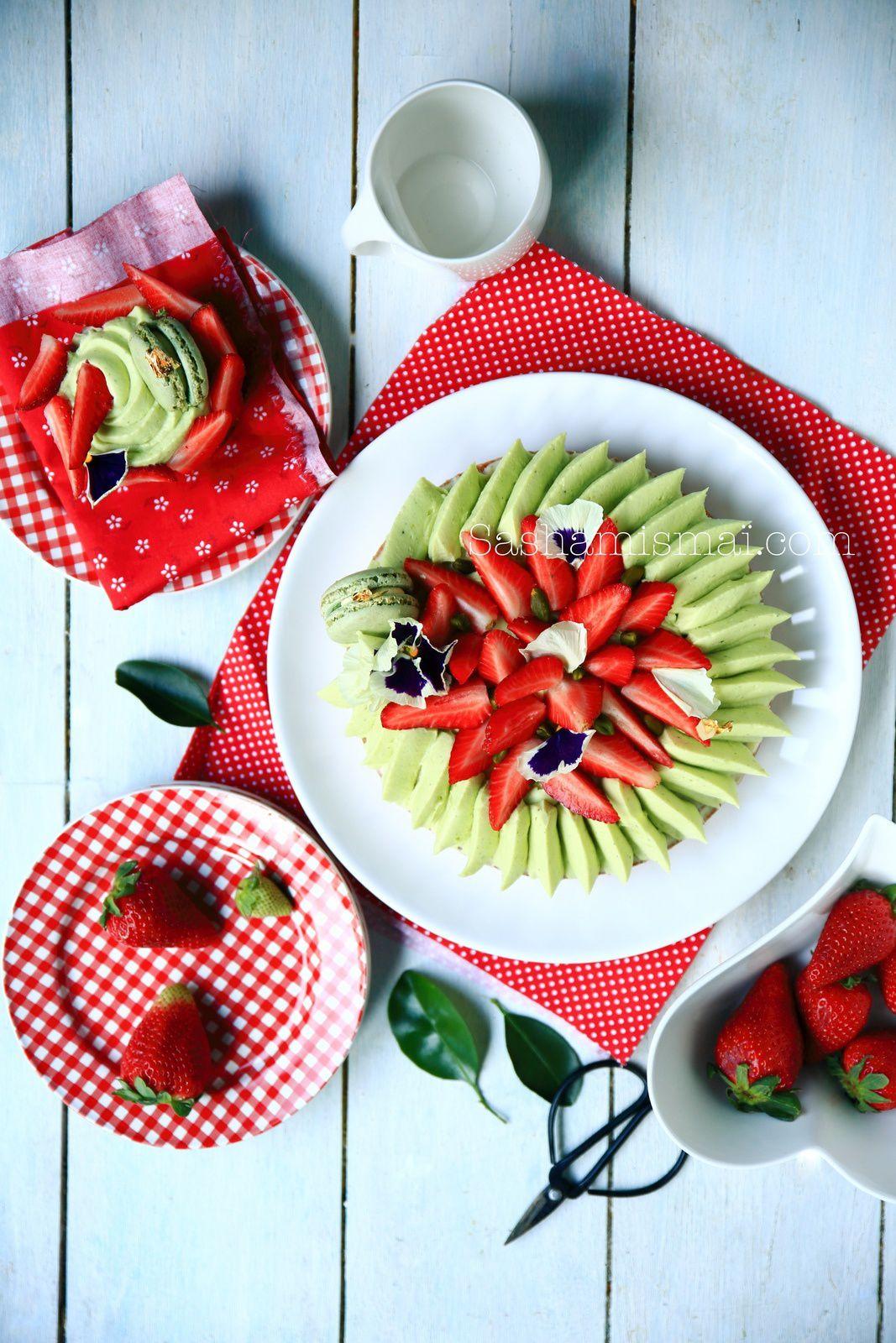 Tarte aux fraises mais pas que...
