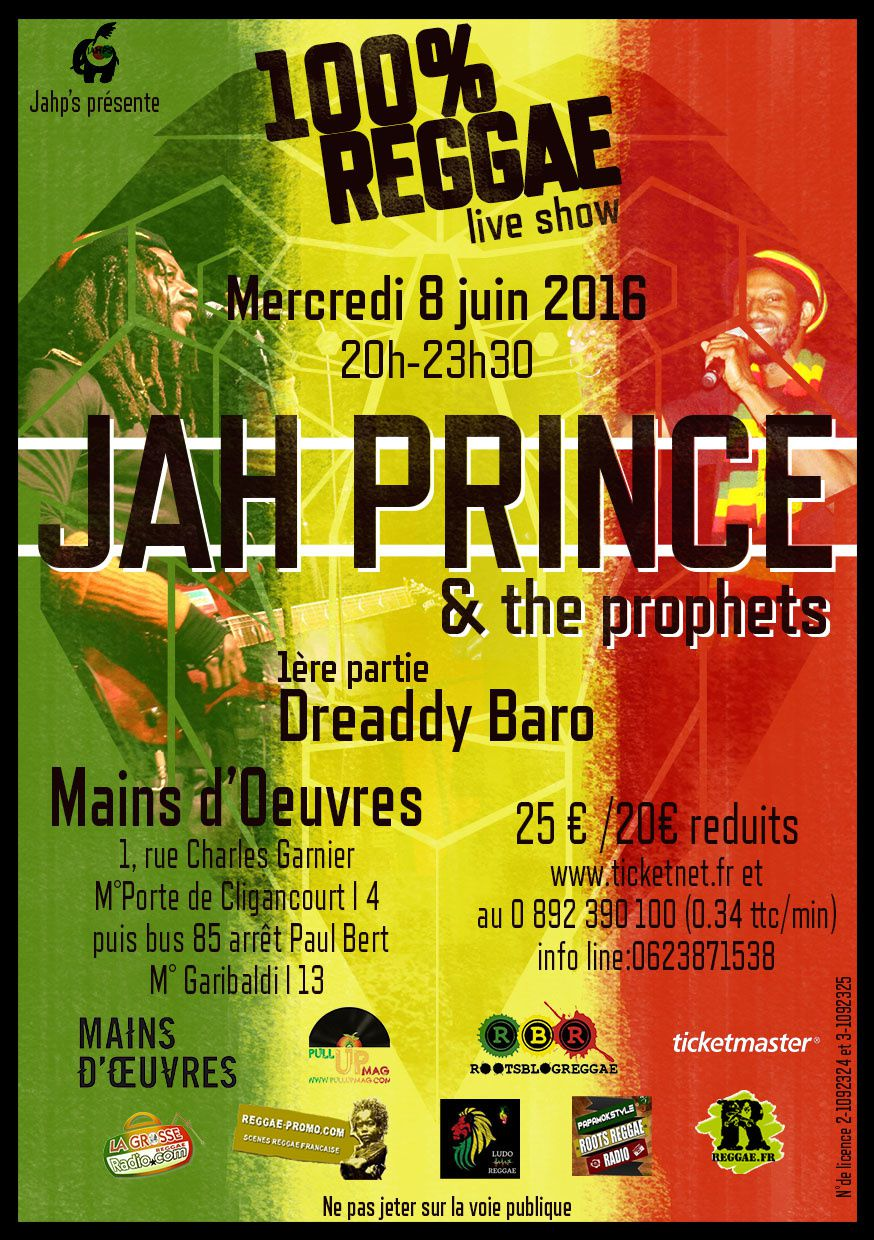 Jah Prince & the prophets - news