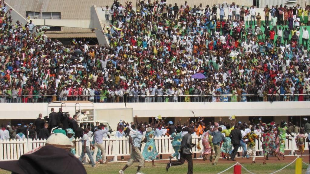 No -52- Visite du Pape François à Bangui. VD