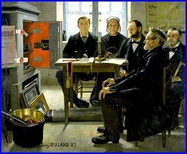 Les héritieurs (Eugène Buland)
