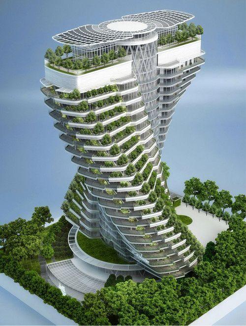 Ville écologique du futur / green city futuristic