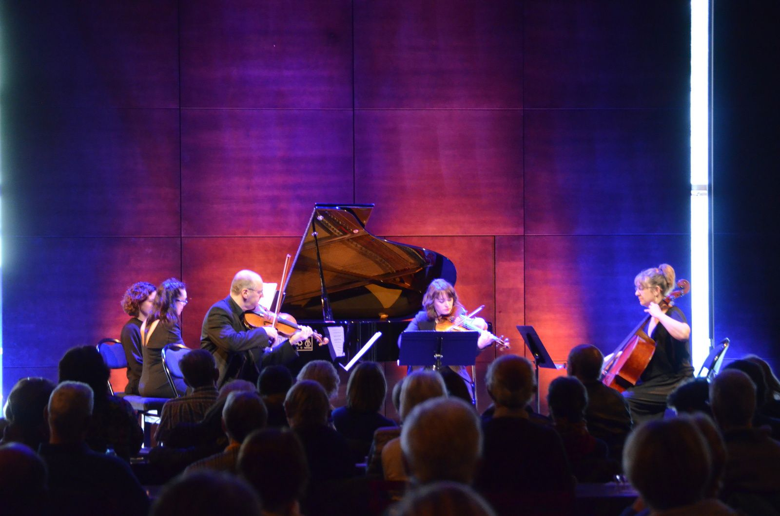 Marie-Christine Guichot, piano/Martin Brunschwig, violon/Charlotte Chollet, alto/Christine Mourlevat-Brunschwig Violoncelle