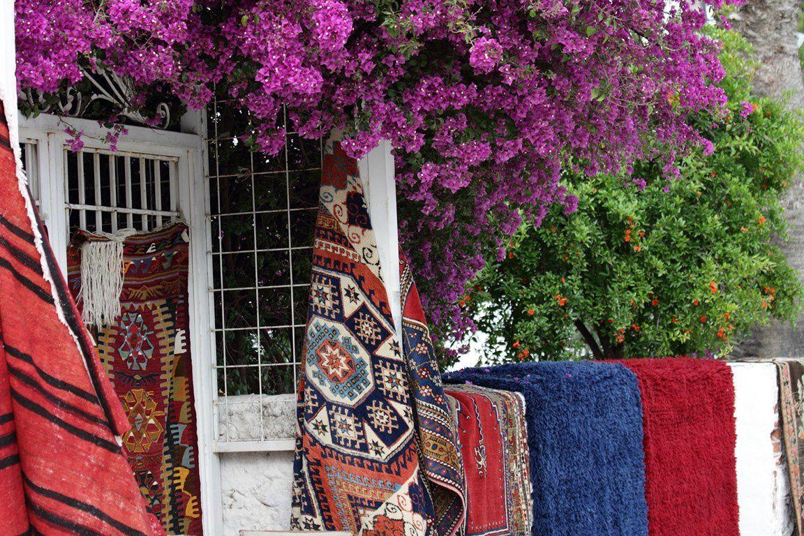 Séjour en Turquie en 05 2014: Bodrum, marché de Turgutreis, Pamukkale (chateau de coton), Hiérapolis, Ephèse.