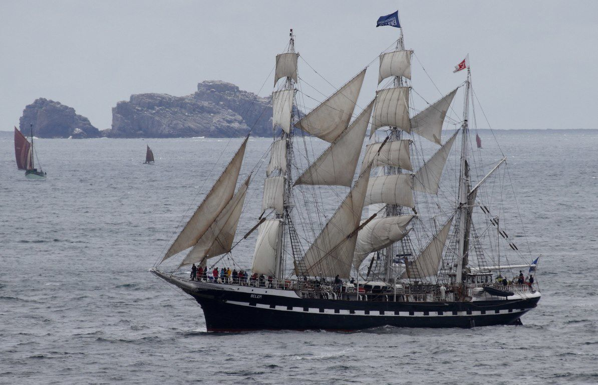 Fêtes maritimes internationales de Brest  (13 au 19 juillet 2016)