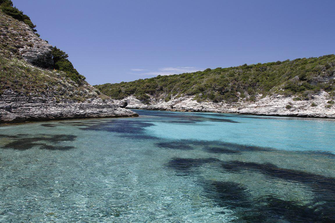 Lagon proche de Bonifacio