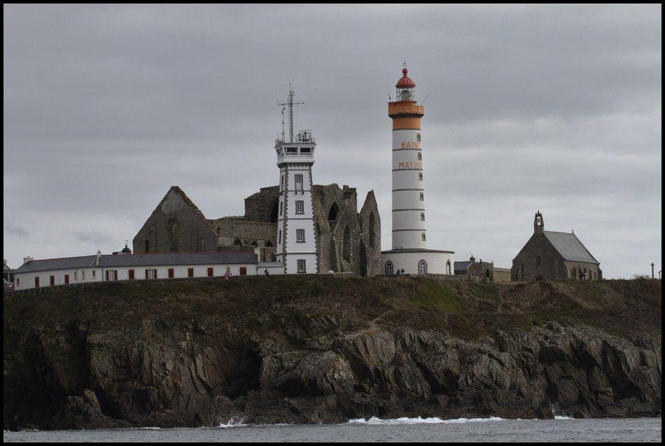 Pointe Saint Mathieu vue de la mer