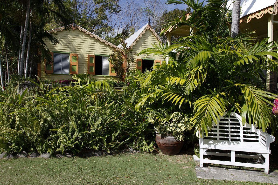 Jardin du Manoir de Romney (St Christophe)