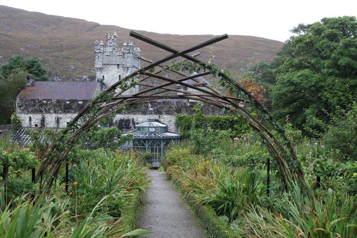 Chateau de Glenveagh et du parc national