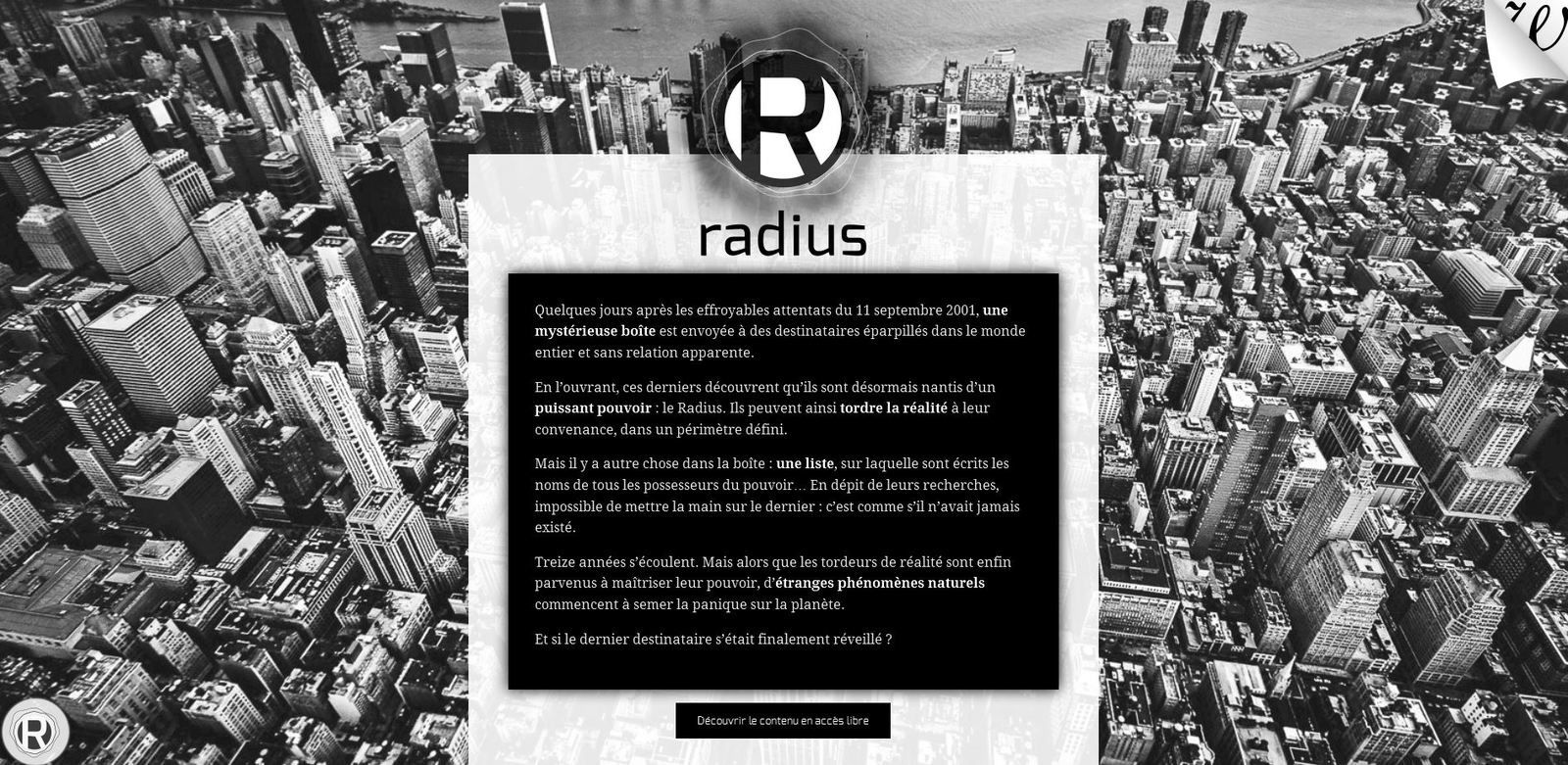 Innover dans l'édition : Radius experience