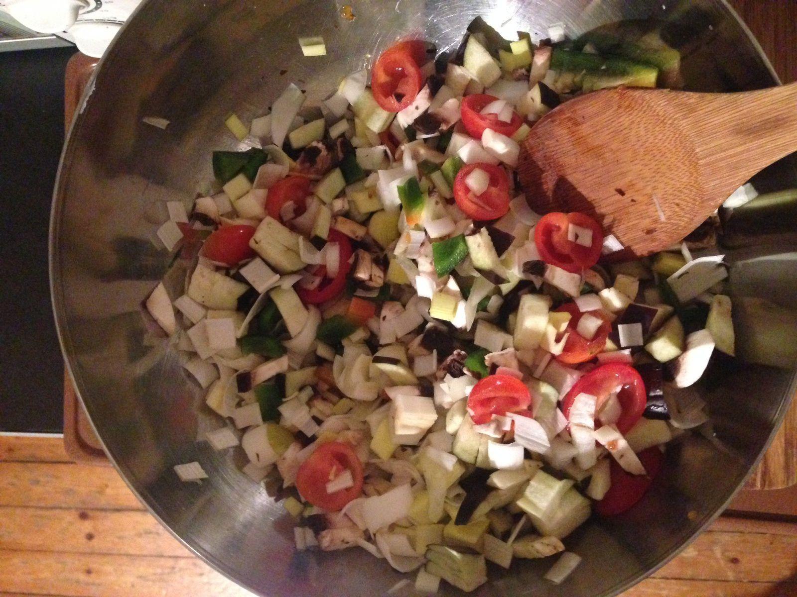 Tourte aux légumes : on cuisine les restes !