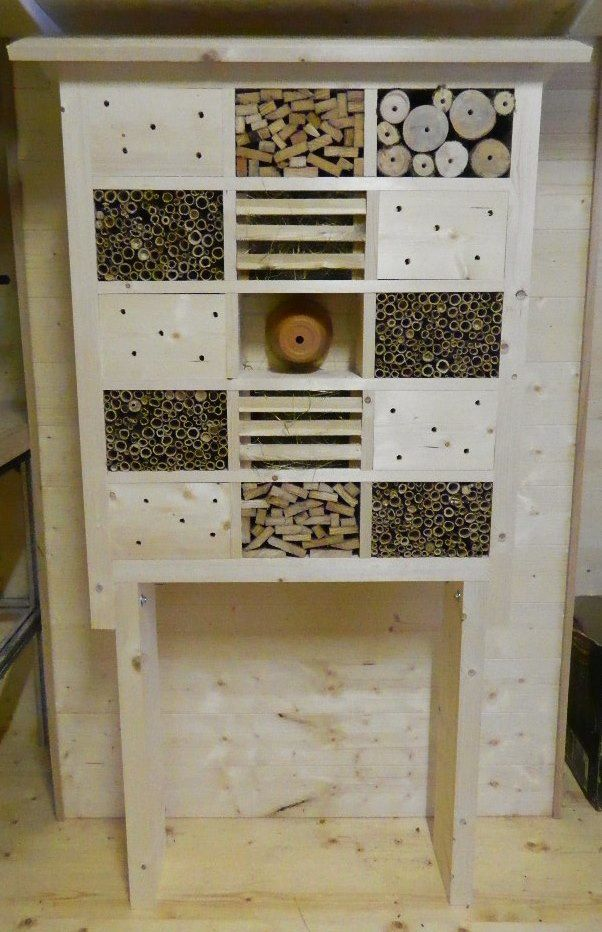 Nos h tels insectes hotels insectes - Hotel a insectes palettes ...