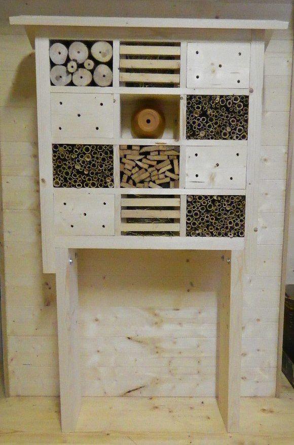 Hôtel à insectes 12 casiers