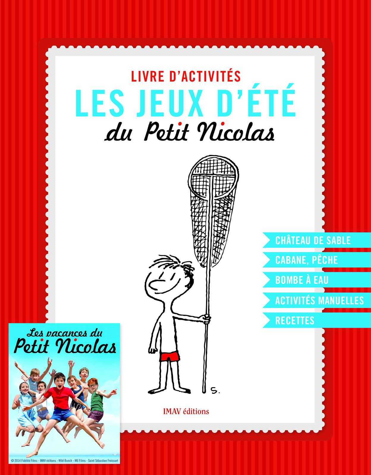 Les vacances du Petit Nicolas (places de ciné et autres cadeaux inside)