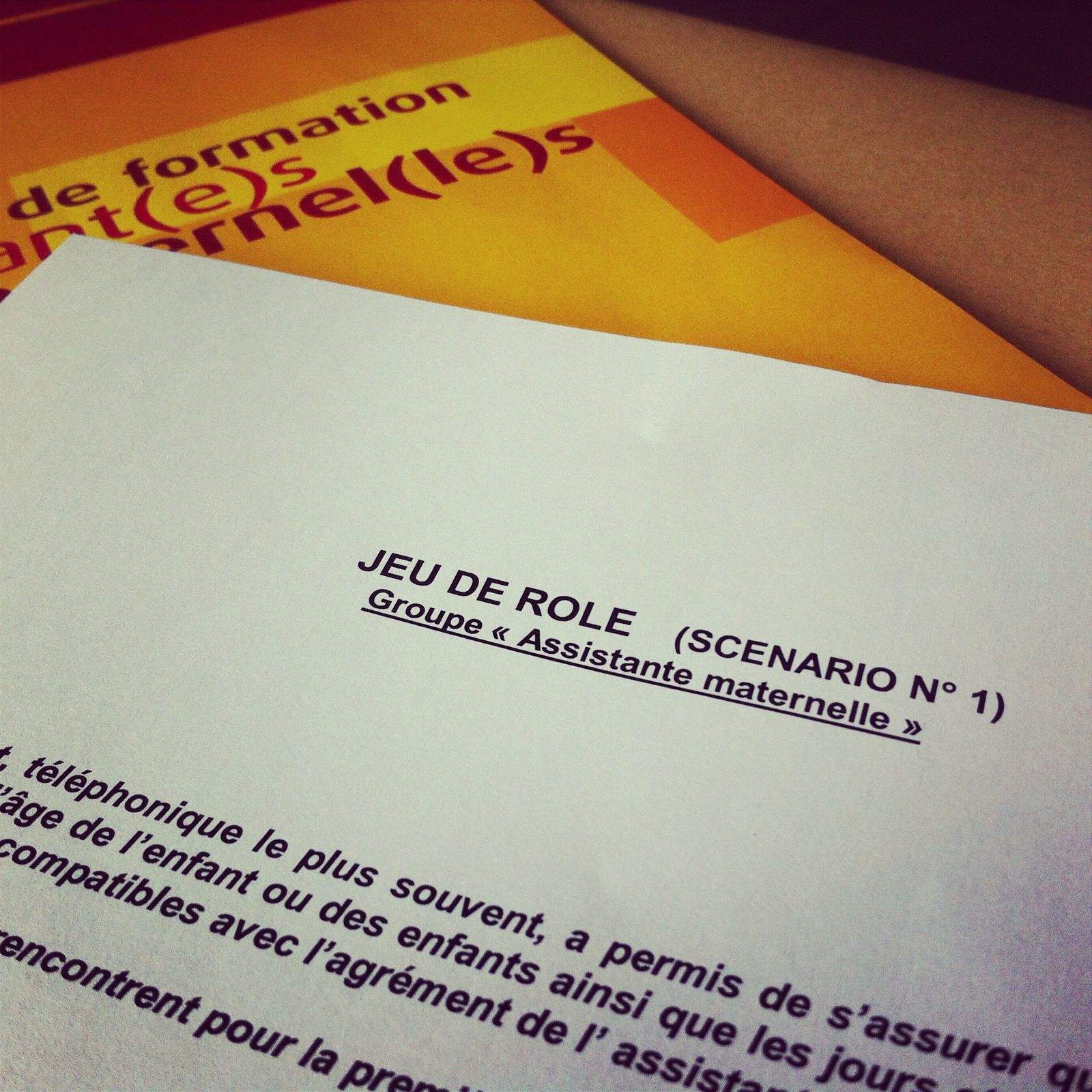 Ma formation d'assistante maternelle