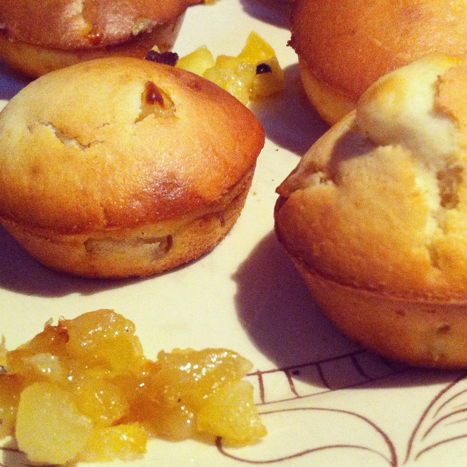 Muffins Pomme & Miel