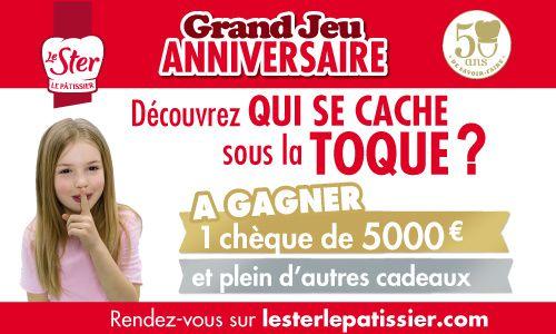 A gagner un colis gourmand Le Ster Le pâtissier !