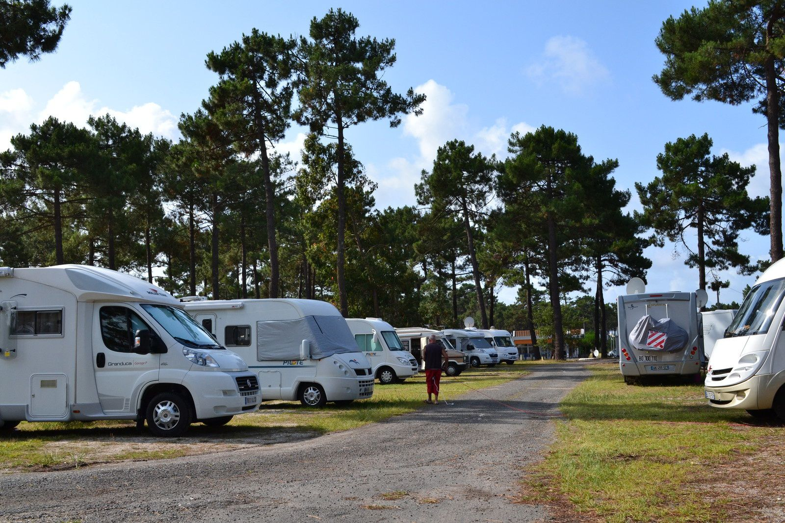 Infos , a l'attention des camping-caristes