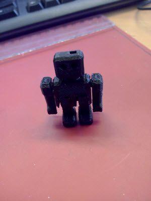en changeant la couleur du fil ... un autre robot articulé