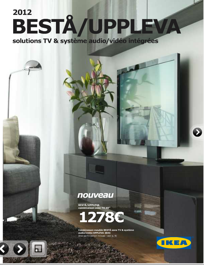 Album 3 uppleva solutions tv audiovid o int gr es ikea 2012 cha - Composition murale ikea ...