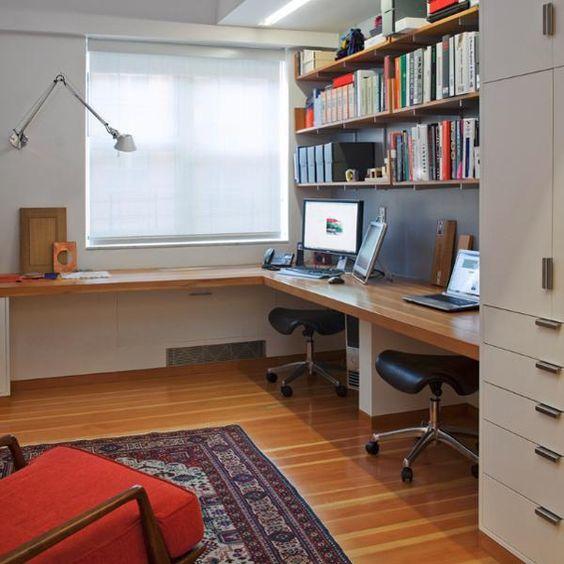 Album - 22 - Changement de décor autour du bureau. Notre nouveau dossier sur l'aménagement d'un bureau...
