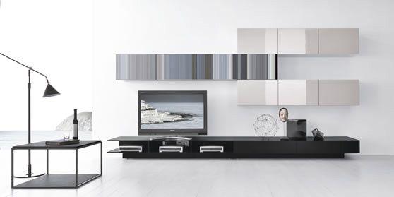 Album - 16 - Ensemble Banc Tv Design + caissons, série 1 (divers marques, pour les séries 1 et 2)