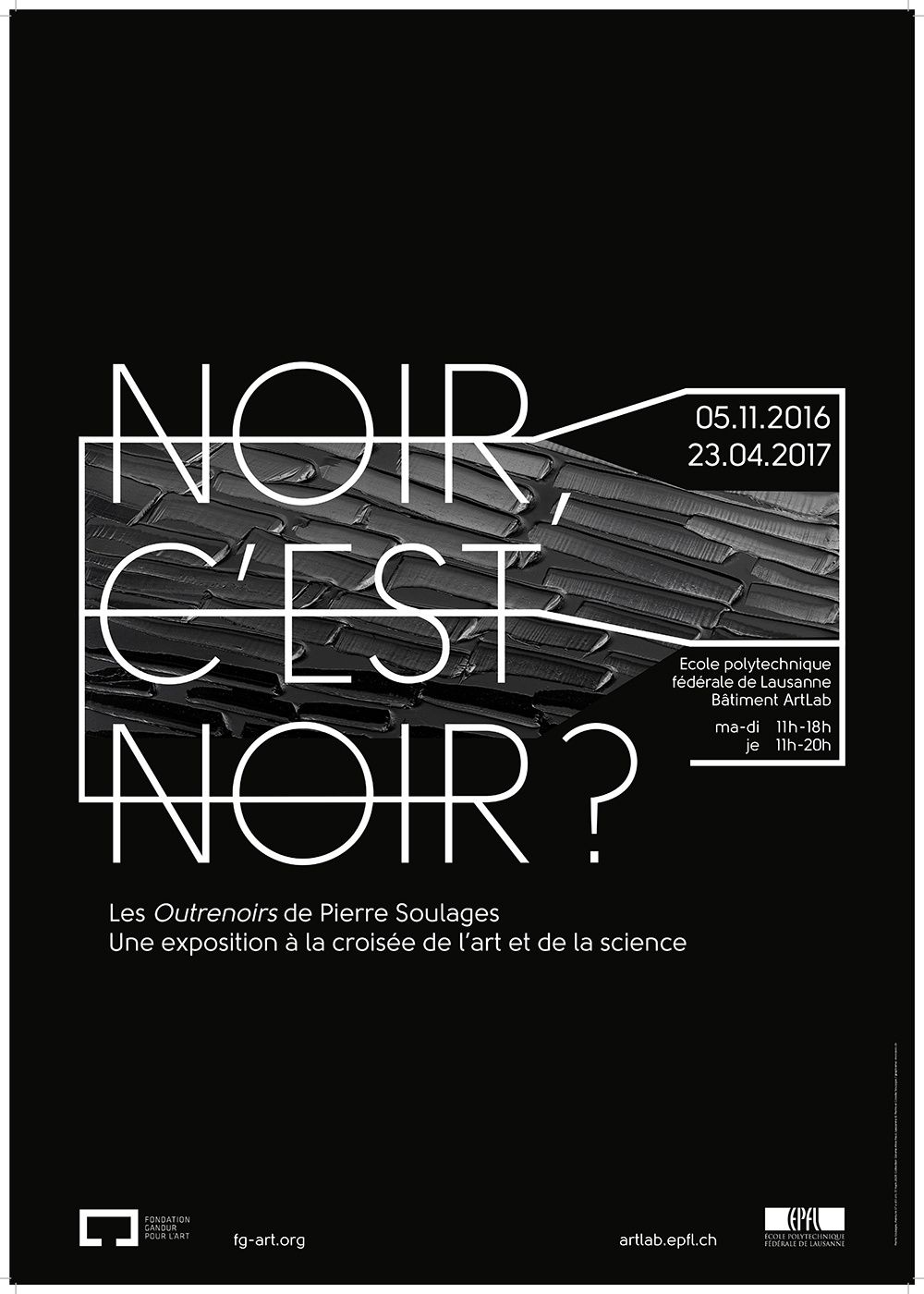 Une expo Soulages à Lausanne