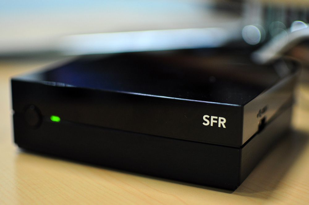 Test Google TV par SFR