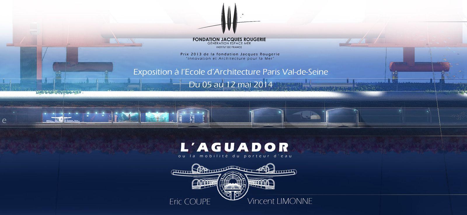 Exposition Fondation Jacques Rougerie : L'Aguador y est exposé!