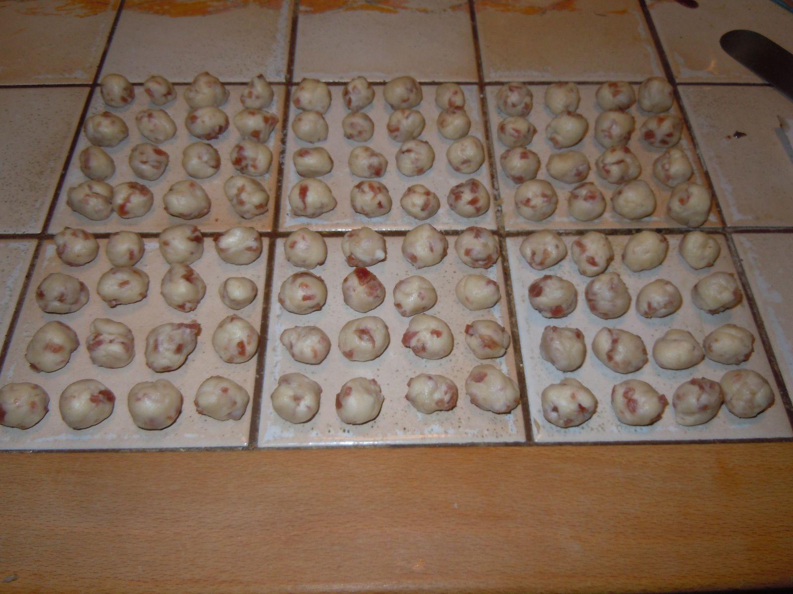Bricelets au Saucisson (Salami)  (Version perso)