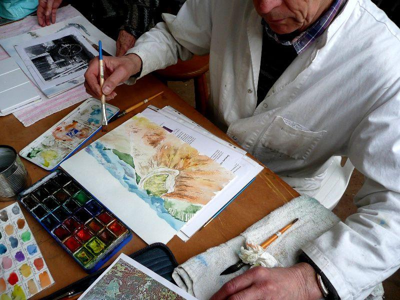 """Quelques photos """" d'artistes""""  à  l'oeuvre..."""