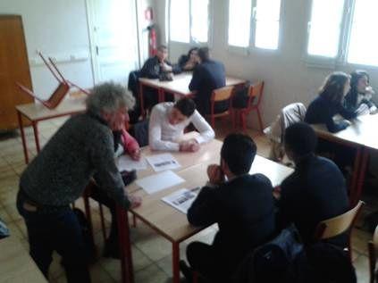 Atelier d'écriture avec Steven Riollet de la Cie Siphonart
