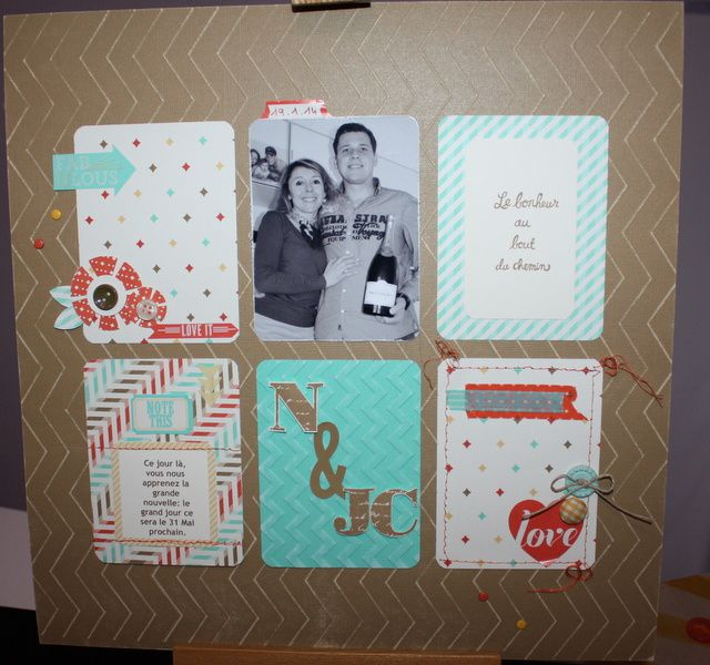 Une page 100% Stampin'up