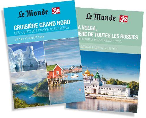 Brochures voyages Le Monde - La Vie
