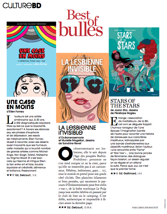 Best of bulles, Marie Claire, I-13