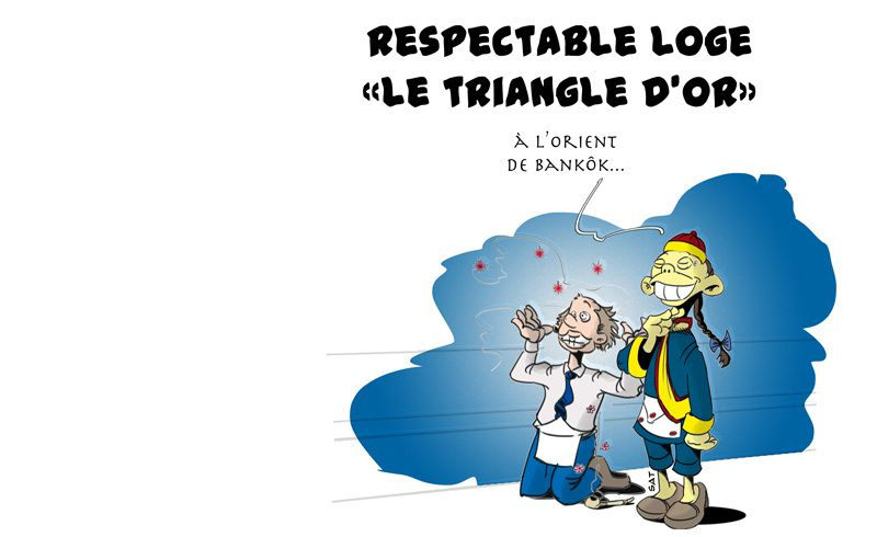 RL &quot&#x3B;Le Triangle d'or&quot&#x3B;