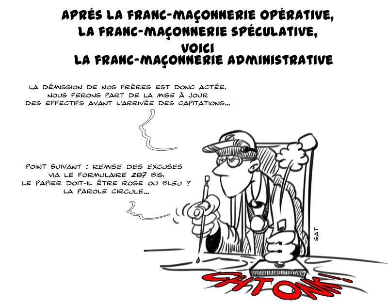 Franc Maçonnerie Administrative