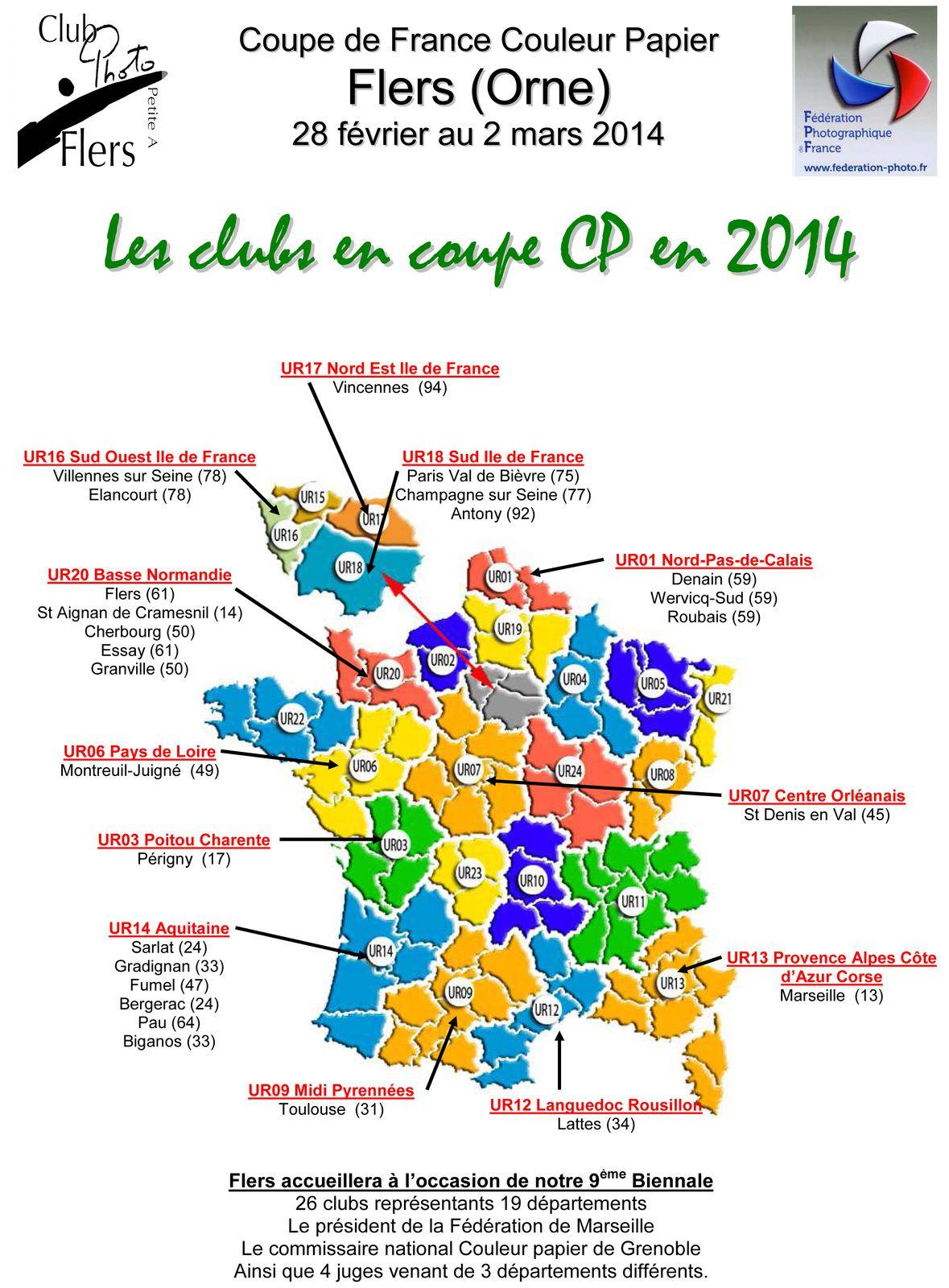 Coupe de France Couleur Papier à Flers les 1et et 2 mars 2014