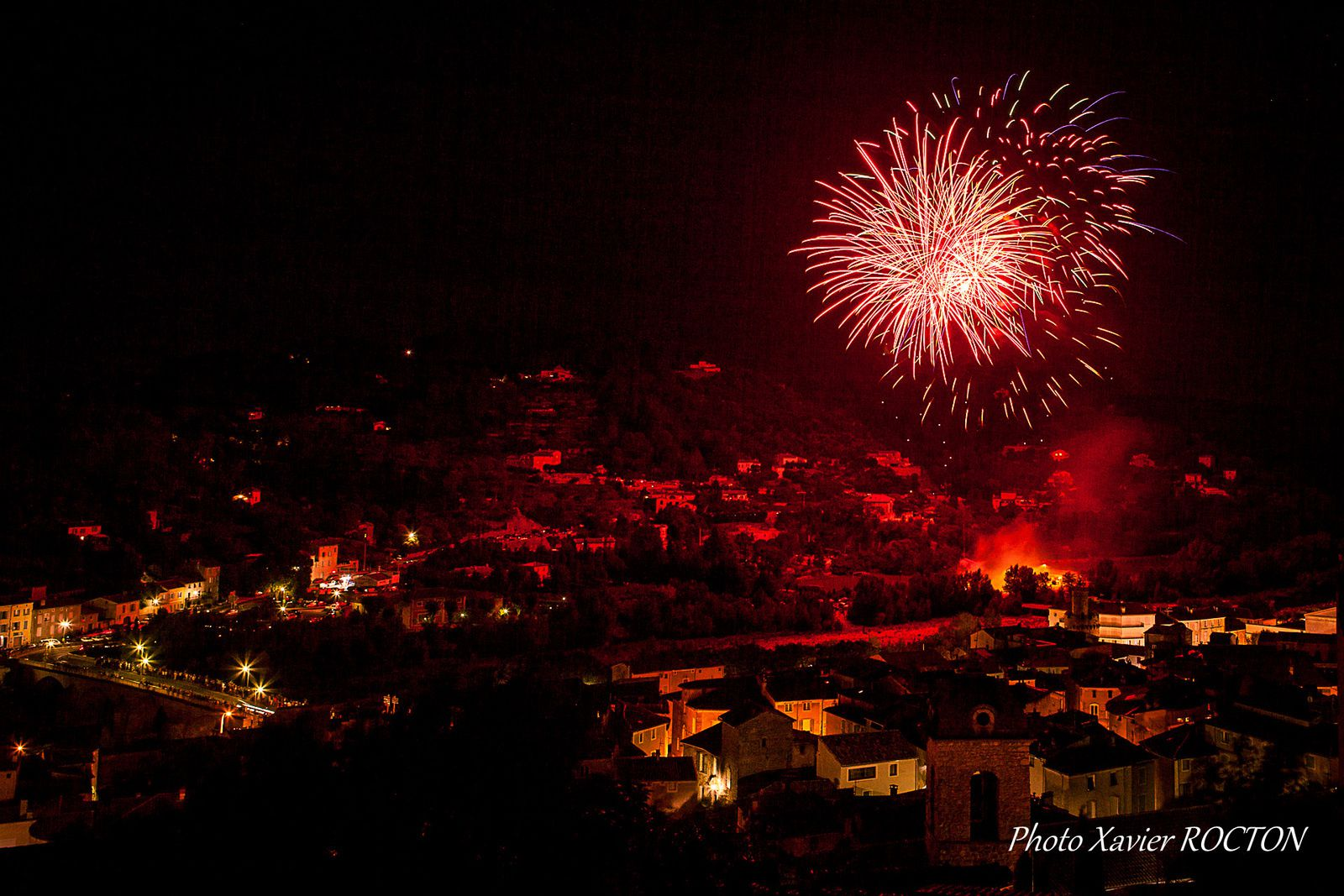 Feu d'Artifice - Anduze (30)