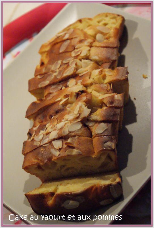 Cake au yaourt et aux pommes