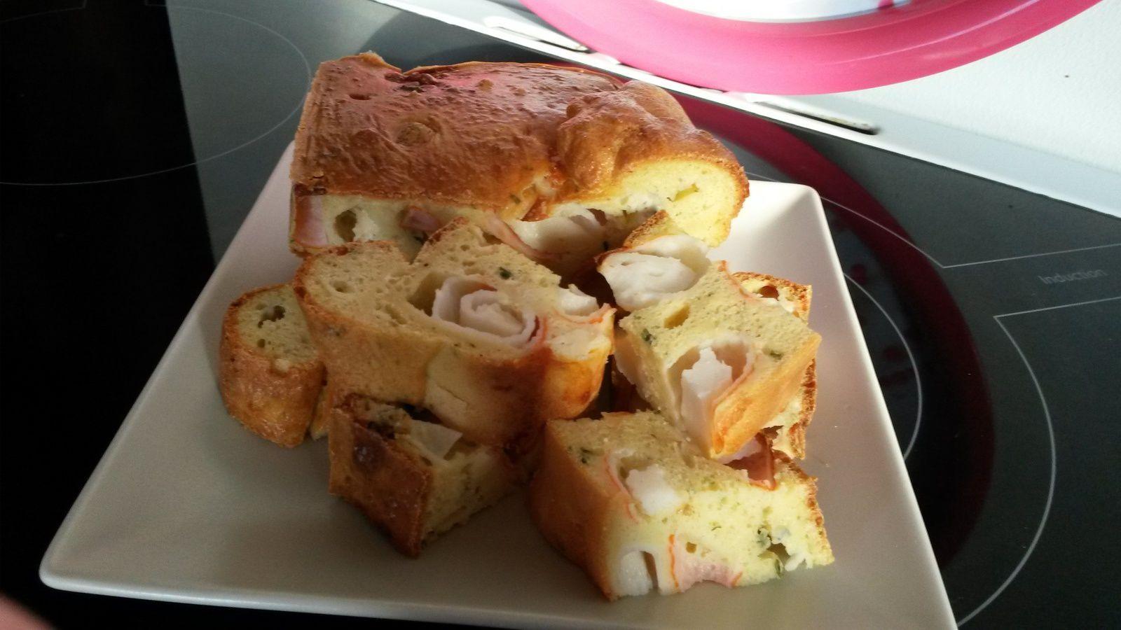 Cake Surimi Gorgonzola ~ Escapade en cuisine de mai
