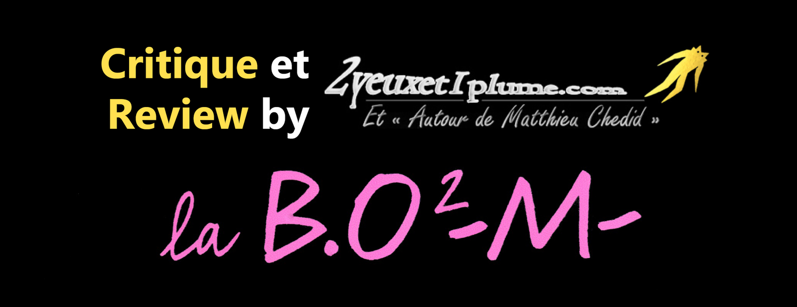 -M- Matthieu Chedid Critique Nouvel album 2015 La B.O² -M-