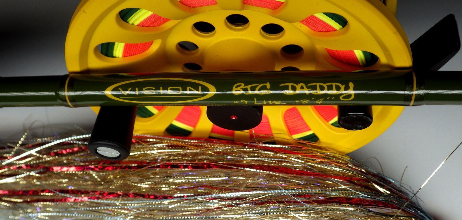 Matériel Vision, disponible au magasin et bientôt en test complet sur www.loisirsetpeche.com !
