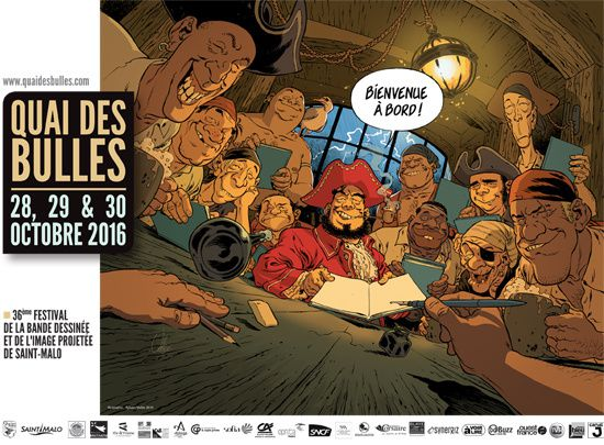Les éditions Sixto au festival Quai des Bulles