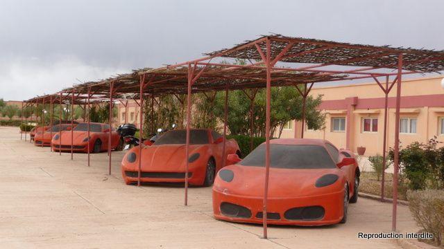 Visite du centre ville de Ouarzazate et des studios CLA